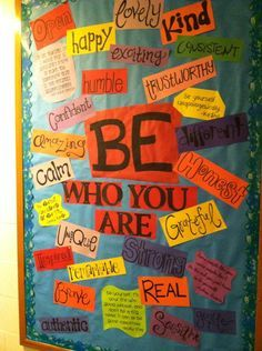 One of my October Bulletin Boards