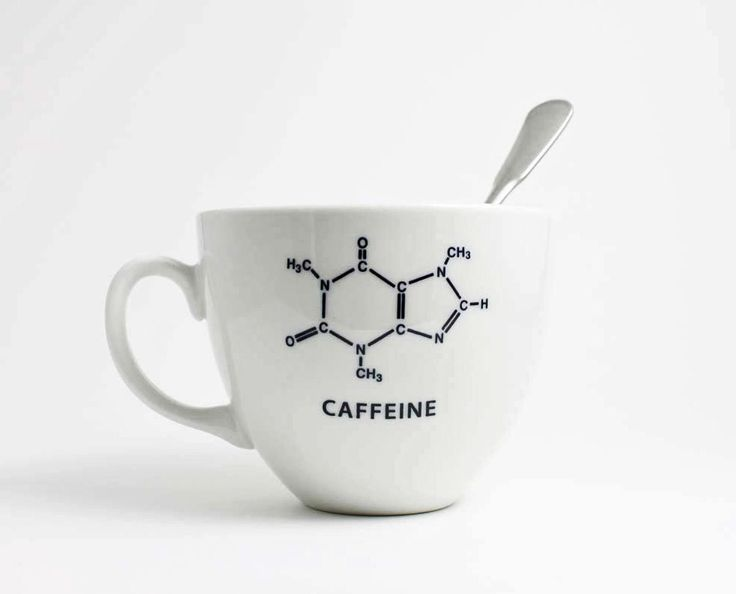 Caffeine Chemistry Coffee Cup, my true nerdiness coming out :)