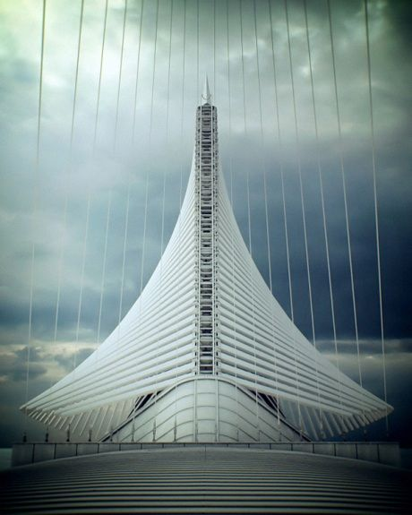 Milwaukee Art Museum | Santiago Calatrava | Milwaukee, Wisconsin, United States
