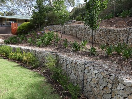 816 best Gabions images on Pinterest Gabion wall Stone and Walls
