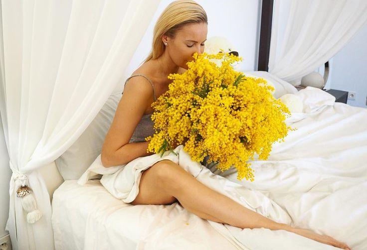 """31.1 mil Me gusta, 96 comentarios - Elena Letuchaya-Anashenkova (@elenapegas) en Instagram: """"Получать цветы без всяческого повода, а только потому-что ты есть и тебя любят, самый приятный…"""""""