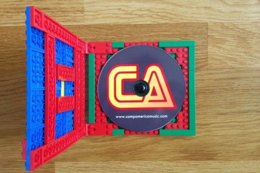 Artist Issues CD With LEGO's To Build Your Own Case - PSFK