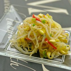 Bean sprout salad, simple & easy