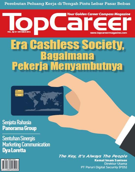Cover Majalah Edisi 36 | Era Cashless Society, Bagaimana Pekerja Menyambutnya