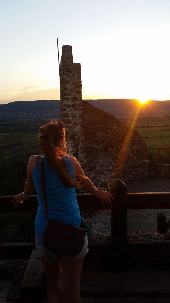 #balaton #summer #vacation #lake #hungary #siofok #bike #sunnyday #szigliget #sunset #romanticview #stunning #castle