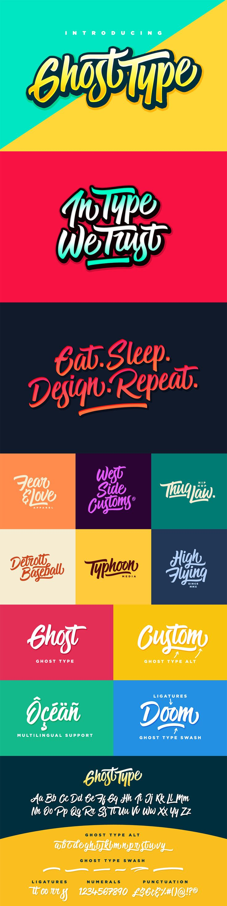 The Font Geek's Go-to Bundle #font #handlettering
