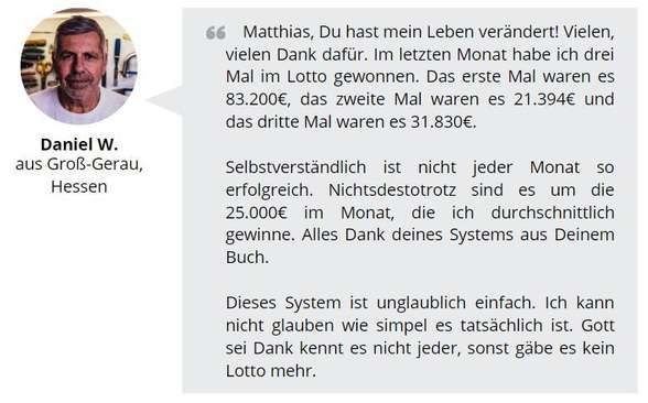 Lotto Lüge