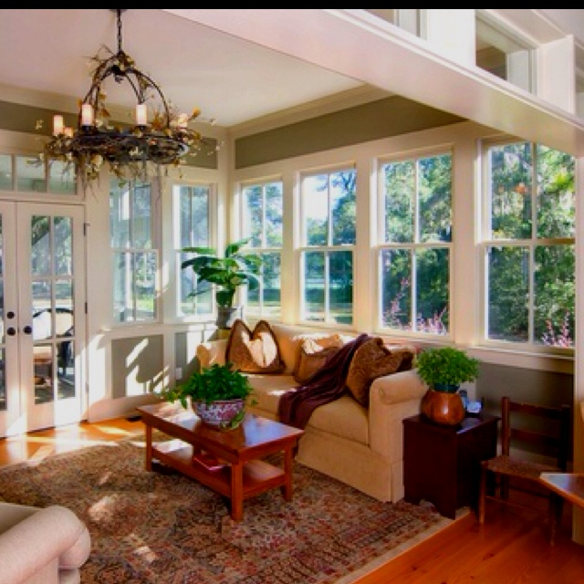 Sunroom Window Ideas: 55 Best Images About Sun Room For Mom On Pinterest