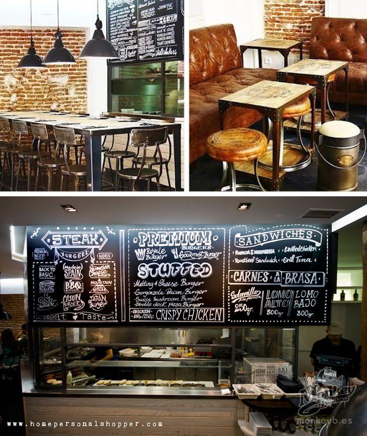 1000 images about locales comerciales commercial site - Como decorar un bar ...