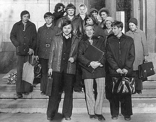 Soviet students.