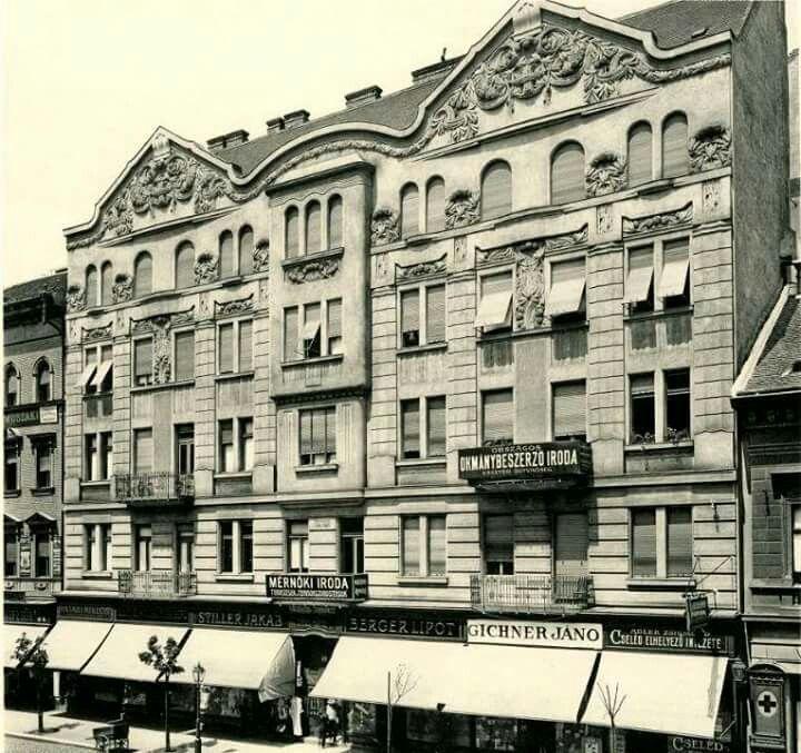Rákóczy út 86. 1910 táján