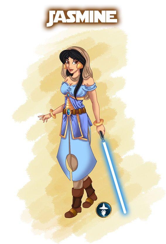 Fifth Jedi Princess: Jasmine :) Jasmine (C) Disney Fanart (C) White-Magician