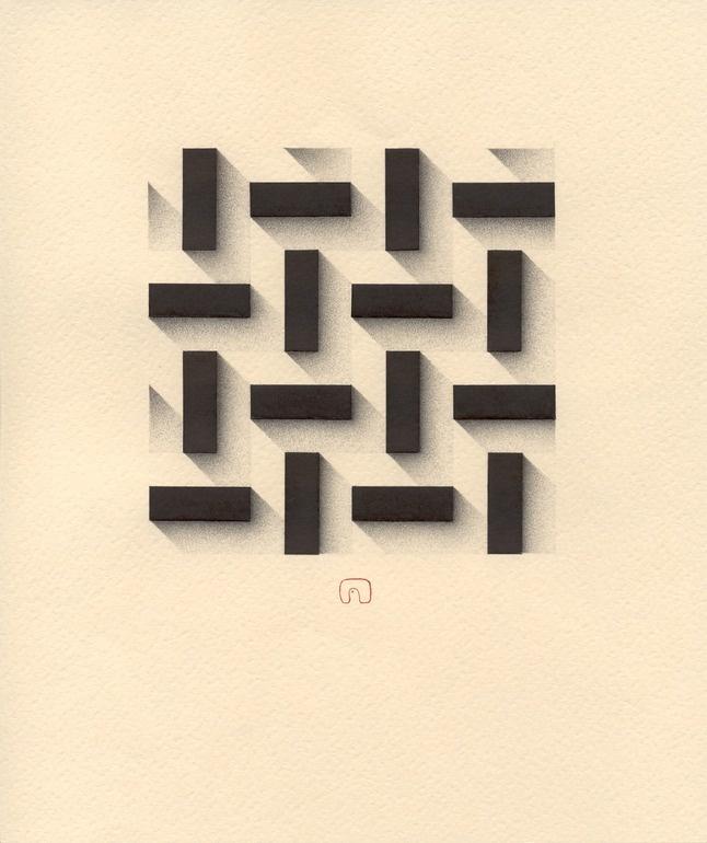 Rhythm of the City N°02 - 21 x 25 cm / Art By Slavomir Zombek
