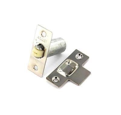 Satin Nickel - Adjustable Roller Ball Internal Door Spring Catch Lock Latch by ChoicefullBargain #Satin #Nickel #Adjustable #Roller #Ball #Internal #Door #Spring #Catch #Lock #Latch #ChoicefullBargain