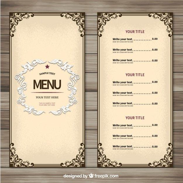 17 meilleures id es propos de conception de menu de for X cuisine miri menu