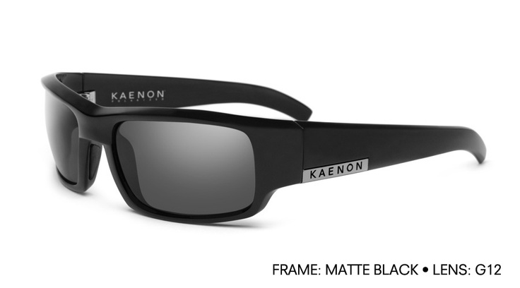 The latest addition to my Kaenon addiction.  Arlo in Matte Black with the G12 lens.  Seriously, without a doubt, Kaenon develops the best sunglasses made.