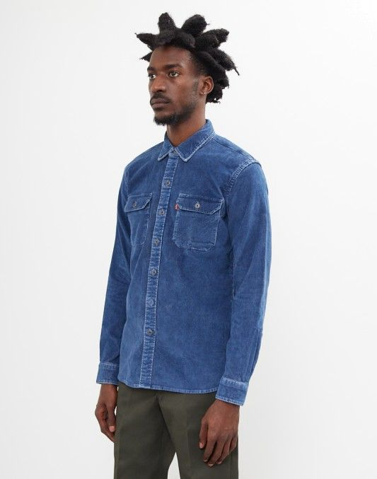 Levi's Jackson Worker Shirt Blue