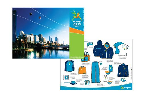 Product Merchandise Style guide for Commonwealth Games 2006