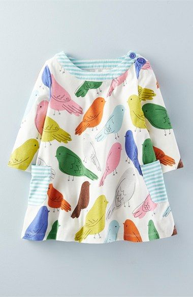 Mini Boden Print Jersey Tunic (Toddler Girls, Little Girls & Big Girls) available at #Nordstrom