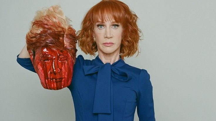 Kathy Griffin dumped by Squatty Potty, lambasted by Trump family over photo with bloody head - Kathy Griffin Trump Tyler Shields
