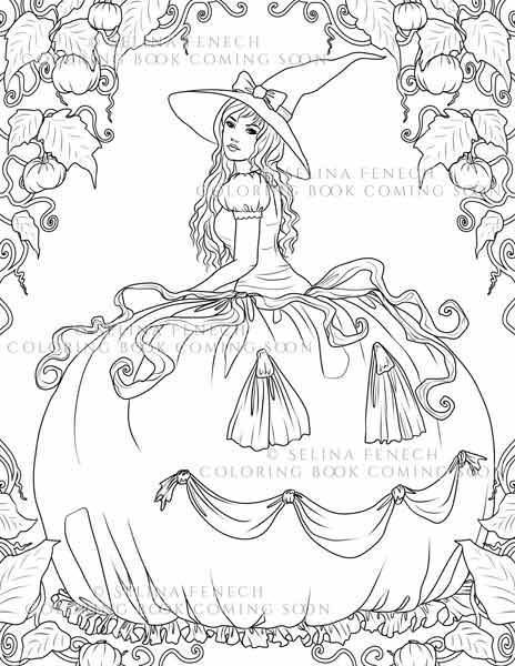 Look what just popped out of the pumpkin patch. I've started work on my next colouring book- with a gothy, spooky, halloween theme! http://ift.tt/2aVzEgK