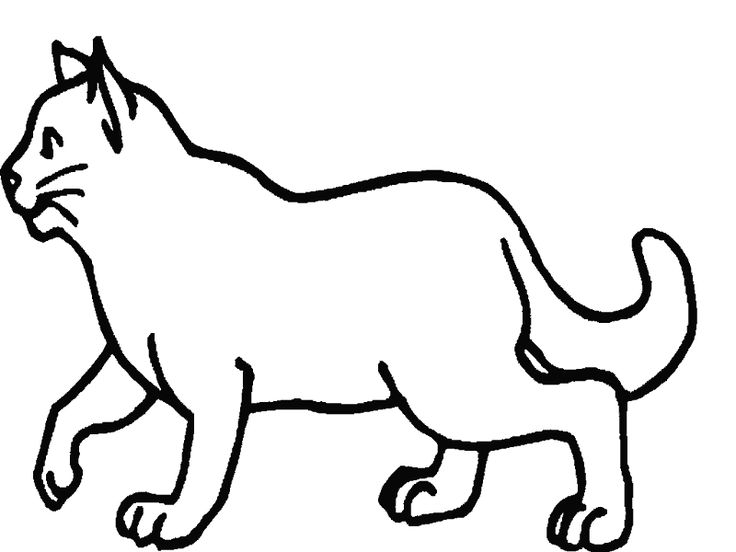 Mejores 19 imágenes de gatos colorear pintar en Pinterest | Gatito ...