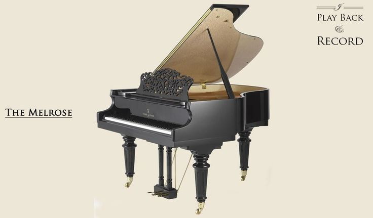 Melrose line of grand pianos