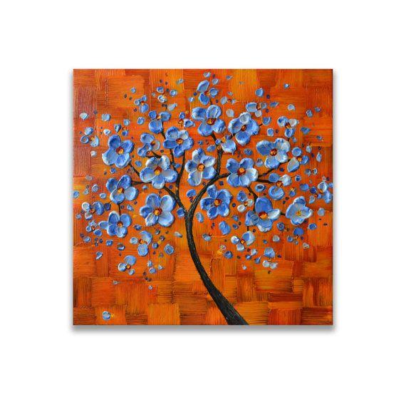 Las 25 mejores ideas sobre pintura de color naranja en - Decoracion turquesa y naranja ...