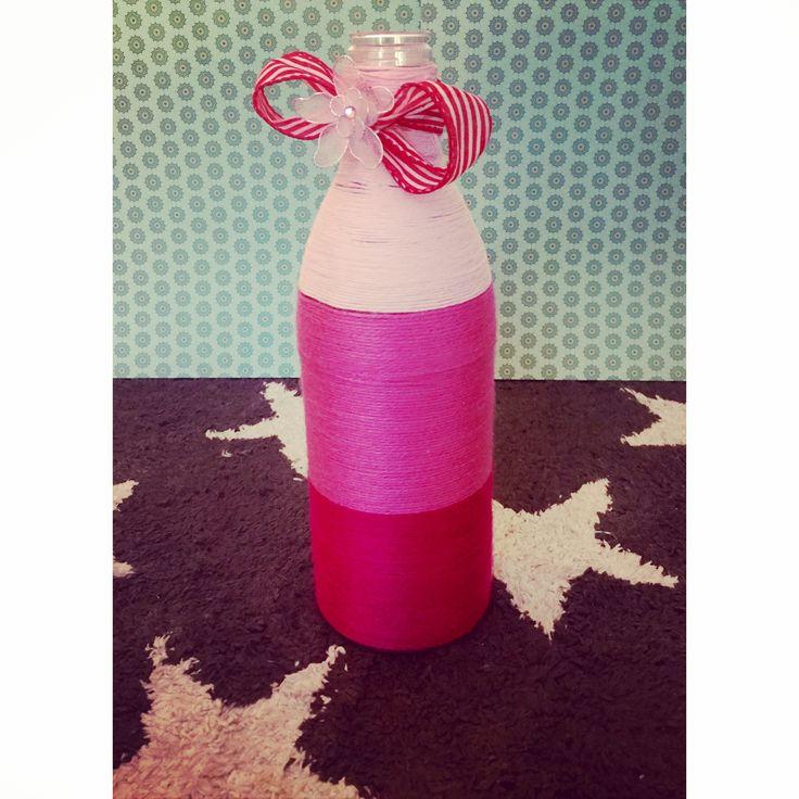 Pink color vase