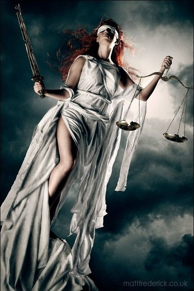 Inspiration for my next tattoo.... Hopefully soon!!! Lady Justice - Roswell Ivory