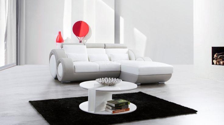 Unwind Leather Chaise Lounge Option A - Lounge Life