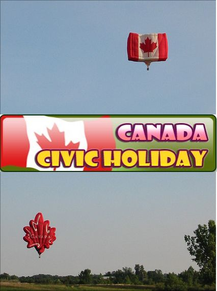 The Civic Holiday is celebrated on the first Monday of August in many parts of Canada. It's time to held various events to celebrate aspects of local culture, history and achievements.  Enjoy your Long Weekend by making and distributing birthday cakes for the province; sports events; communal meals, such as breakfasts, barbecues, lunches and suppers, fireworks, road races and cultural festivals. Cheers VizTeams  (www.vizteams.com)