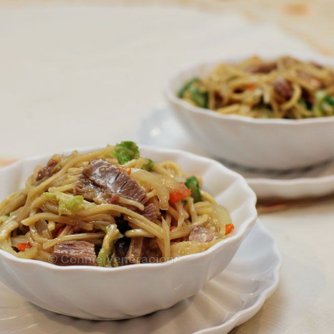 how to cook pancit canton in rice cooker