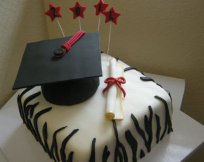 Graduation Hat Cake topper