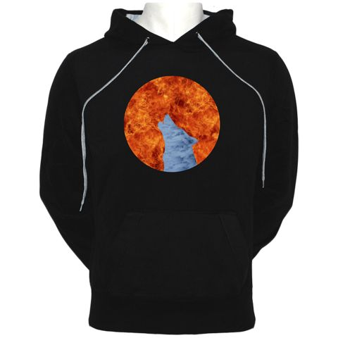 Fire and Ice Hoodie - WOLFISH WORKSHOP