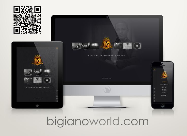 Enter the online world of Bigiano - well known Nigerian singer and songwriter.