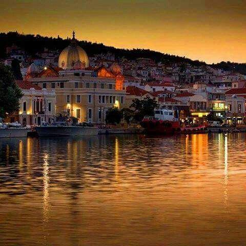 Sundown,  Mytilini island,  Greece
