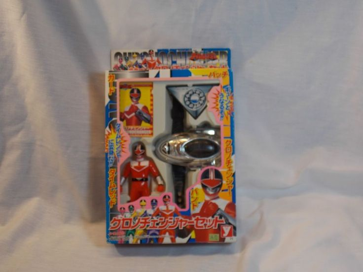 Power Rangers Red Time Force Ranger Chrono Changer Morpher Set YUTAKA #Yutaka