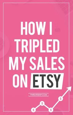 I used to earn very little from Etsy last year (2014) until I decided to take it seriously. Take a look at my 2014 VS 2015 earnings. Here are some various methods I've tried that tripled my ETSY sales this year.