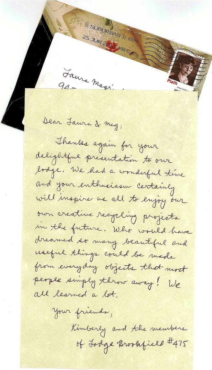 Best Thank You Notes Images On   Thank You Letter