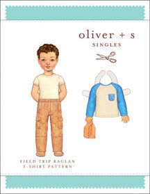digital field trip raglan t-shirt sewing pattern | Sewing Patterns Shop | Oliver + S