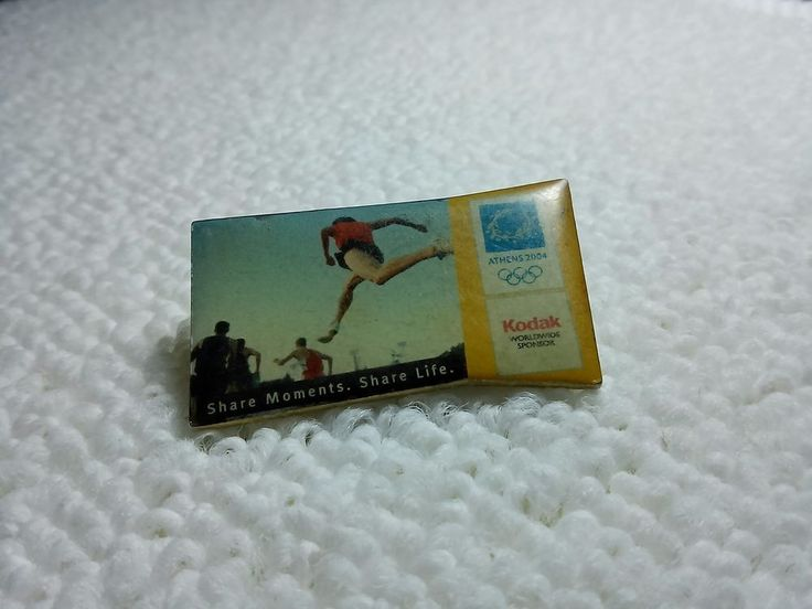 Greece Athens Olympics 2004 Kodak Sponsored pin badge