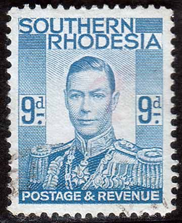 Southern Rhodesia 1937 George VI Head Fine Used SG 46 Scott 48 Other African and British Commonwealth Stamps HERE!