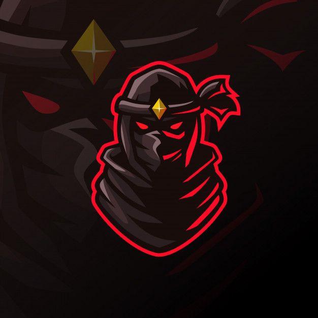 Awesome Ninja Logo For Esport Ninja Logo Logo Illustration Design Game Logo Design