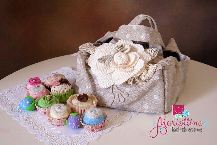 La borsa portatorta elegante e shabby
