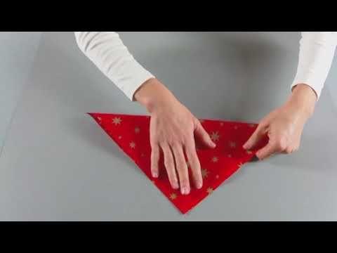 KreativPLUS Itzehoe Faltanleitung: Sternwindlicht aus Papier basteln - YouTube