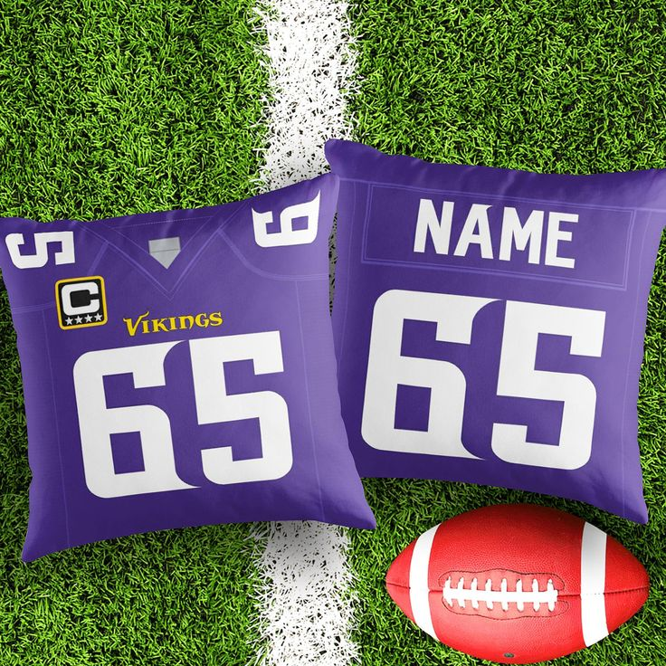 Personalised Minnesota Vikings decorative Cushion Cover Fan inspired product Gift for boyfriend american football