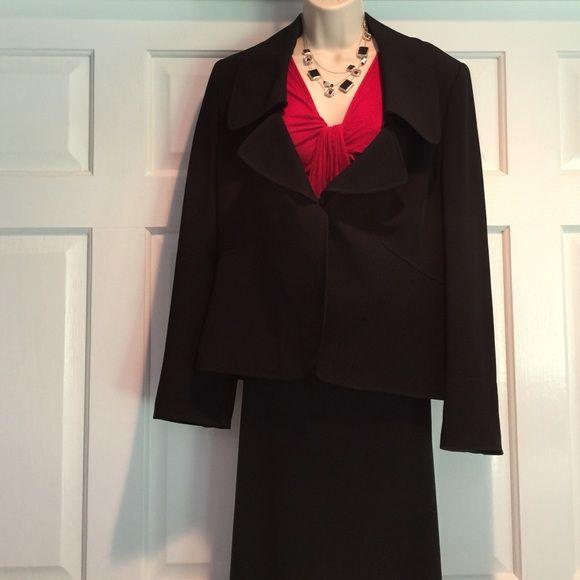 Ellen Tracy black suit jacket Like new!  Gorgeous jacket.  Originally $249. Ellen Tracy Jackets & Coats Blazers