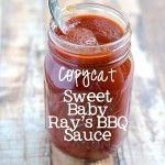 Copycat Sweet Baby Ray's BBQ Sauce   APinchOfHealthy.com
