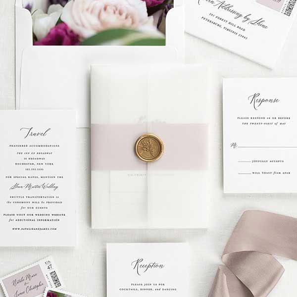 Floral Wedding Invitations Glamorouswedding In 2020 Wedding Invitation Ribbon Poppies Wedding Invitations Wedding Invitation Kits